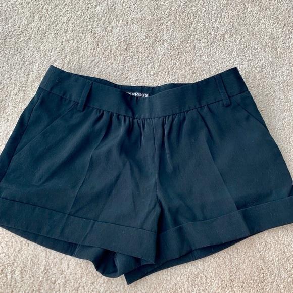 Express Pants - Express Black Shorts